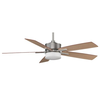 "60"" Landan 5 Blade Ceiling Fan with Remote Product Photo"