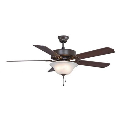 "52"" Builder Series 5 Blade Ceiling Fan Product Photo"