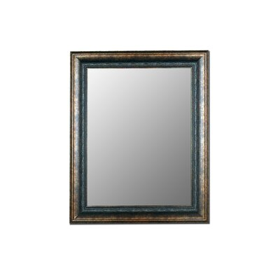 Hitchcock Butterfield Company Milano Bronzed Black Framed Wall Mirror