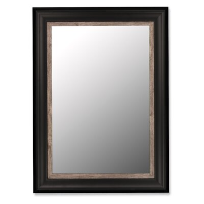 Hitchcock Butterfield Company Mirror with Weather Grey Liner in Ebony