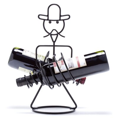 Rodeo 2 Bottle Tabletop Wine Rack by Oenophilia
