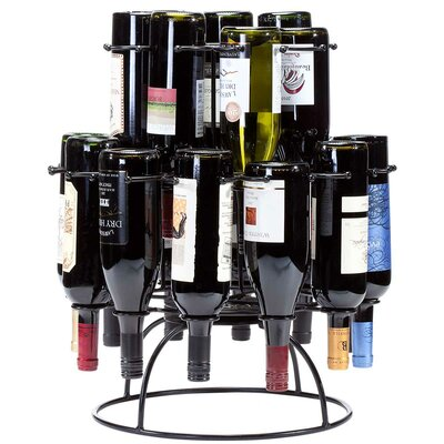 Revolution Wine Carousel 19 Bottle Tabletop Wine Rack by Oenophilia