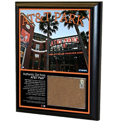 """Steiner Sports MLB 8"""" x 10"""" Game Used Dirt Plaque"""