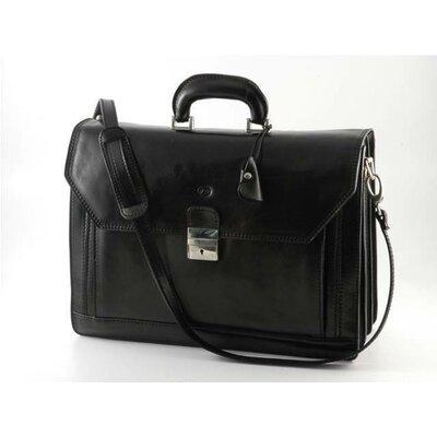 Verona Capri Leather Laptop Briefcase by Alberto Bellucci