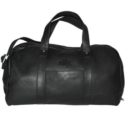 "Pangea Brands NBA 18"" Leather Corey Travel Duffel"