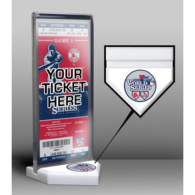That's My Ticket 2013 World Series Cardinals vs Red Sox Ticket Display Stand