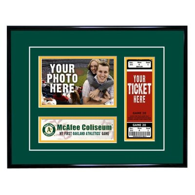 That's My Ticket MLB My First Game Ticket Frame