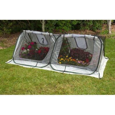 Flowerhouse StarterHouse 8 Ft. W x 4 Ft. D Polyethylene Mini Greenhouse