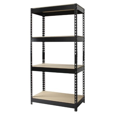 "CommClad Horse Riveted 60"" H 4 Shelf Shelving Unit"