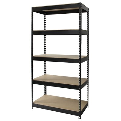 "CommClad Horse Rivet 72"" 4 Shelf Shelving Unit Starter"