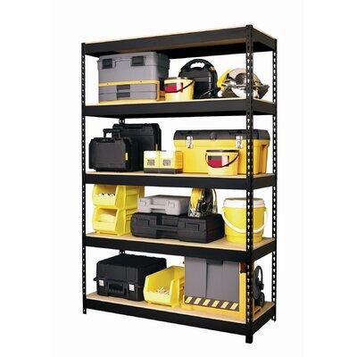 """CommClad Horse Rivet 72"""" H 4 Shelf Shelving Unit Starter"""