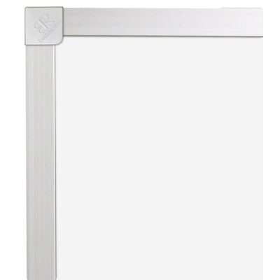 CommClad Thermal-Fused Wall Mounted Whiteboard, 4' x 4'