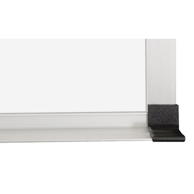 CommClad Thermal-Fused Dot Wall Mounted Grid Whiteboard, 3' x 4'