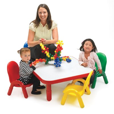 Angeles BaseLine Toddler Table and Chair Set Set AB74112P