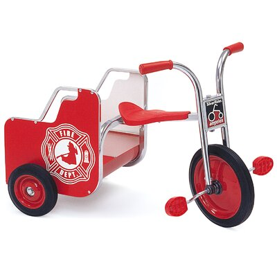 Angeles SilverRider Fire Truck Cargo Tricycle AFB1400SR