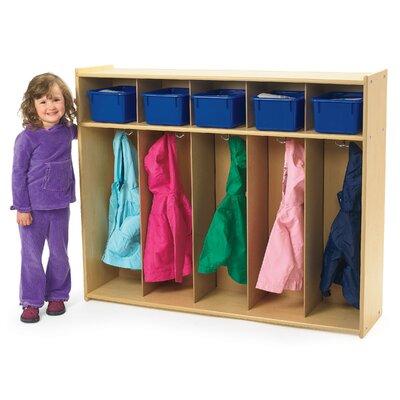 Angeles Value Line 1 Tier 5-Section Toddler Locker