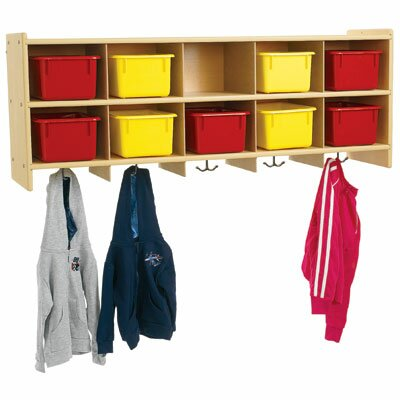 Angeles Value Line 10-Section Wall Locker