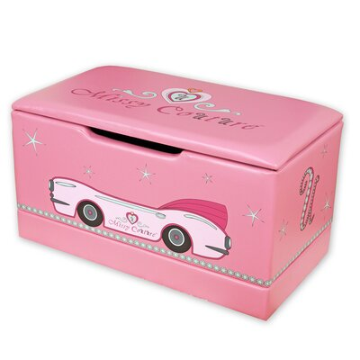 Najarian Furniture Missy Couture Upholstered Toy Box