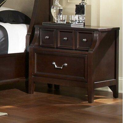 Newport 4 Drawer Nightstand by Najarian Furniture