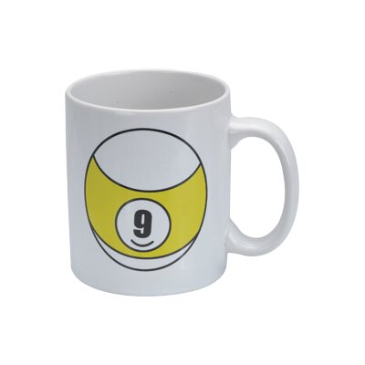 Cuestix CueStix Novelty Items 9 Ball Coffee Mug