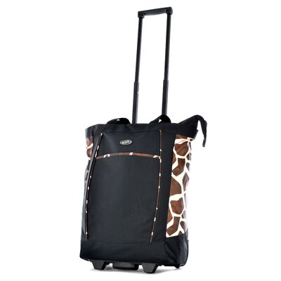 Giraffe Rolling Shopping Tote by Olympia