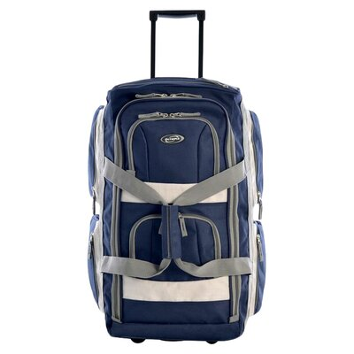 "Olympia 22"" Eight Pocket  Rolling Duffel Bag"