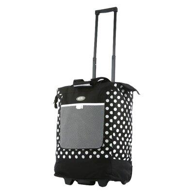 "Olympia Polka Dot 19"" Rolling Shopping Tote Bag"