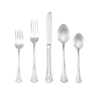 Excelsior 46 Piece Personalized Flatware Set by RiverRidge Home Products