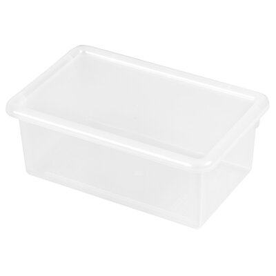 ECR4kids Single Width Tote Bin With Matching Lid (Set of 12) ELR 0102