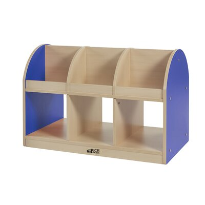 ECR4kids Colorful Essentials™ Double-Sided Toddler Book Stand