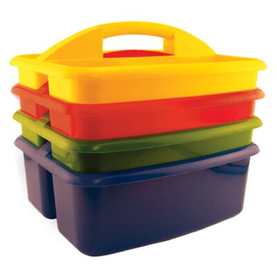 ECR4kids 4 Piece Large Art Caddy Set