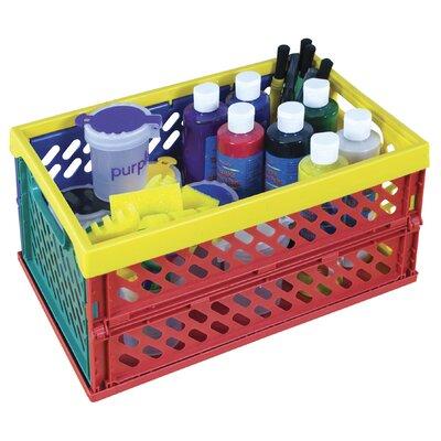 ECR4kids 27 Piece Paint Set in Large Storage Crate