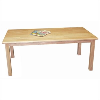 ECR4kids Rectangular Classroom Table