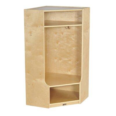 ECR4kids 1-Section Corner Locker