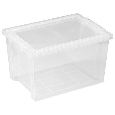 ECR4kids Large Storage Bin with Clear Lid