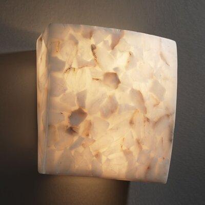 Justice Design Group Alabaster Rocks 2 Light Wall Sconce