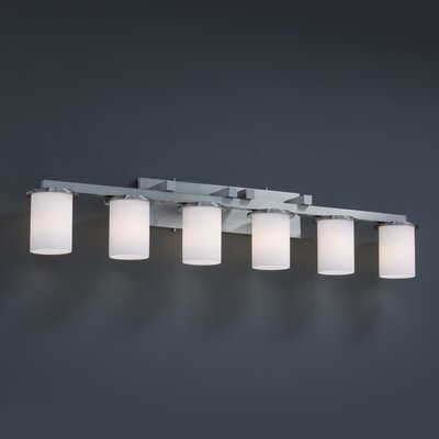 Dakota Fusion 6 Light Bath Vanity Light Product Photo