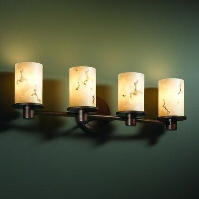 Justice Design Group LumenAria Rondo 4 Light Bath Vanity Light