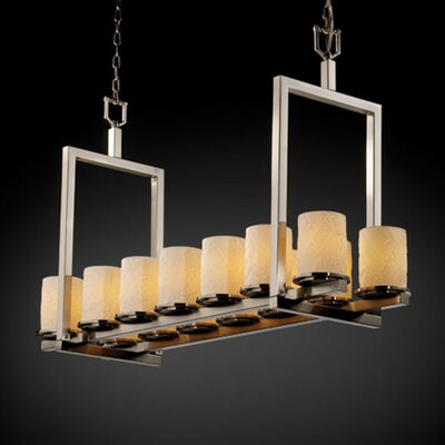 Justice Design Group Limoges Dakota 14 Light Chandelier