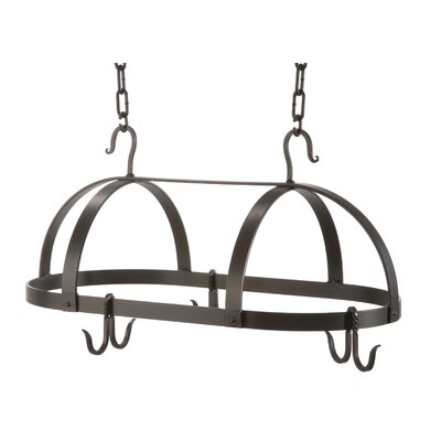 Oval Dutch Pot Rack by Stone County Ironworks