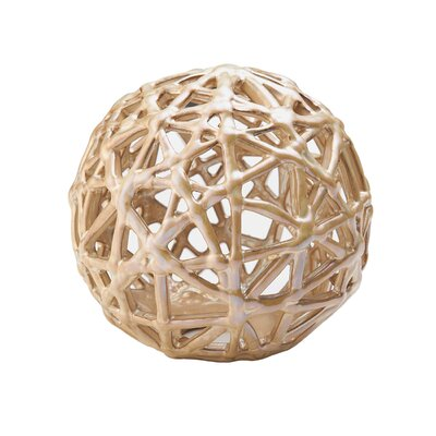 Opal Luster String Ceramic Ornament by Mikasa