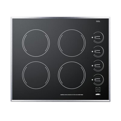 "24"" Electric Induction Cooktop with 4 Burners Product Photo"