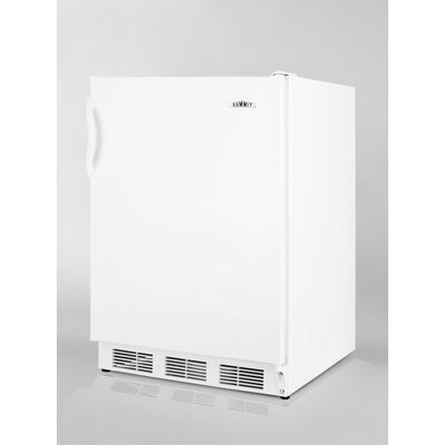 5.1 cu. ft. Compact Refrigerator with Freezer by Summit Appliance
