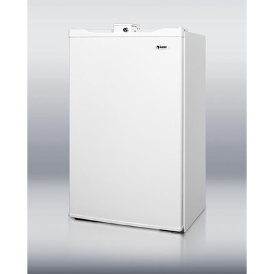 3.9 cu. ft. Compact Refrigerator with Freezer by Summit Appliance