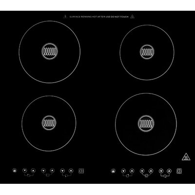 "23"" Dual Fuel Induction Cooktop with 4 Burners Product Photo"