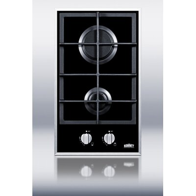 "12.25"" Gas Cooktop with 2 Burners Product Photo"