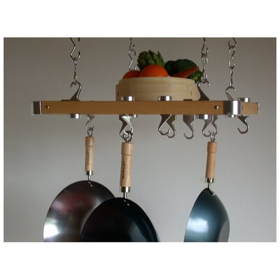 Track Rack European Ceiling Hanging Pot Rack by Taylor & Ng