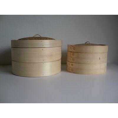 Taylor & Ng Bamboo Steamer with Lid