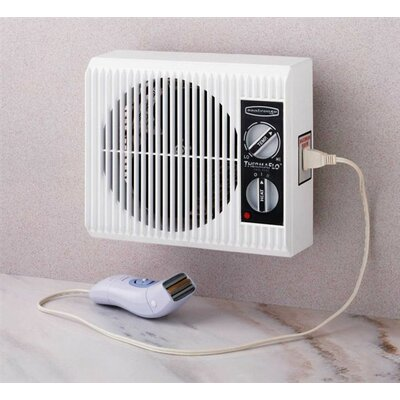 Seabreeze Electric Off The Wall Bed Bathroom Heater