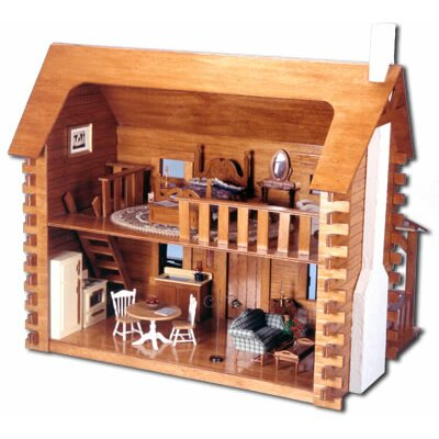 Greenleaf Dollhouses Creekside Cabin Dollhouse